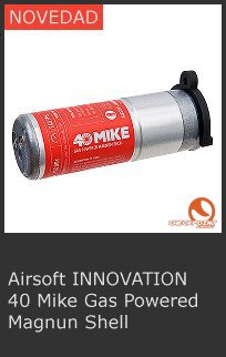 Airsoft Innovation 40 Mike Gas
