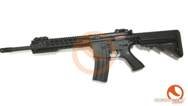 M4 SR CM.515 Negro/Tan CYMA