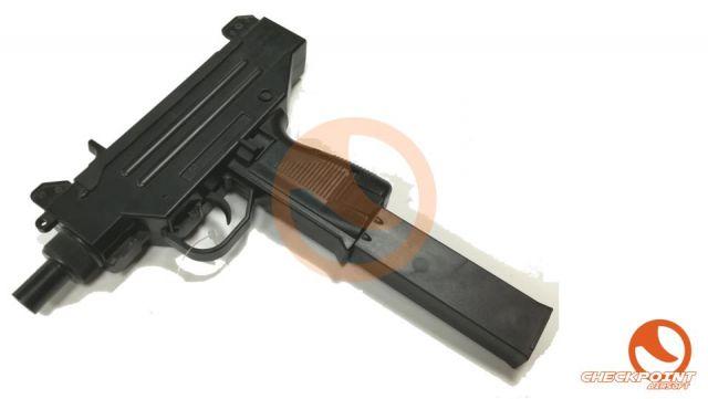 Micro UZI AEG cargador negro 220 BB's