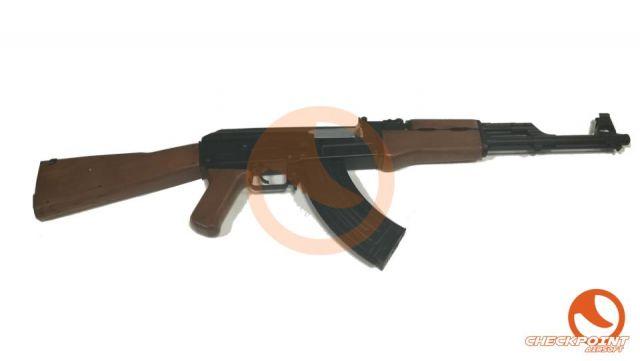 AK47 cuerpo y gear box de plástico