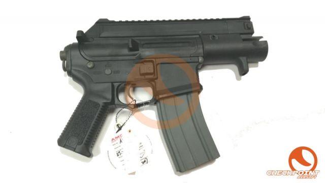 M4-CCP Negro/Tan AMOEBA