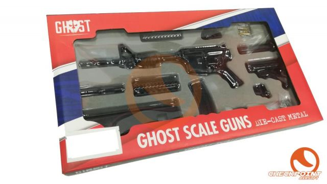 Replica a escala fusil M4 ghost