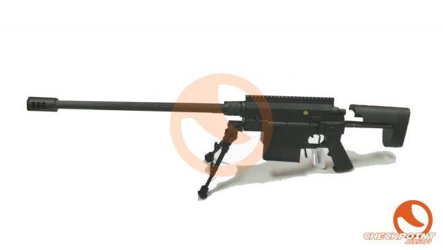 Sniper M200 de muelle con bípode