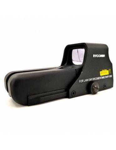 Punto Rojo 552 Negro RRD001
