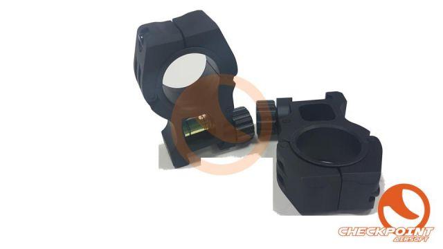 Montura Anillas 30mm c/ nivel