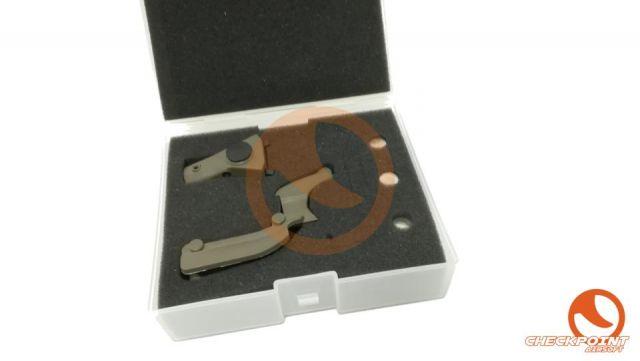 OP láser con ranuras laterales para glock