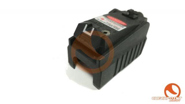 Alzas para Glock con laser FMA negro