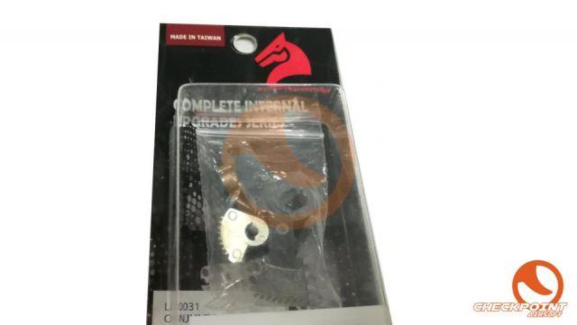 Conjunto selector y safety set AK Lonex
