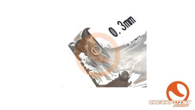 Set de Arandelas Gear Box 015-2mm Saigo