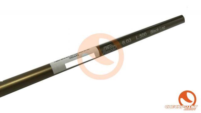 Cañón precisión fibra carbono 6.03 500mm
