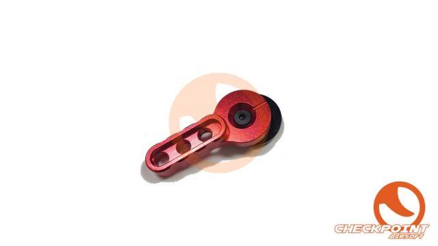 Selector AEG Aluminio Rojo
