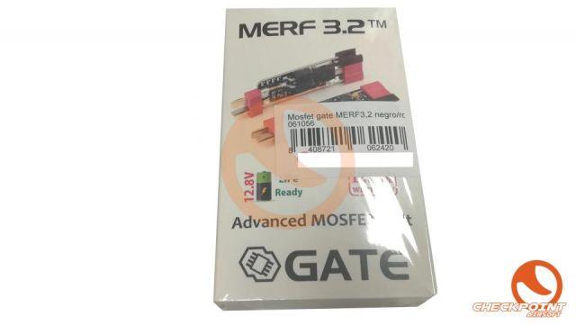 Mosfet gate MERF3,2 negro/rojo