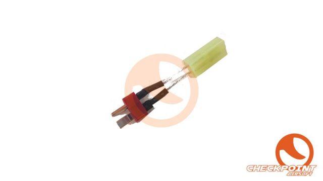 Conector T plug a Tamilla pequeño Hembra