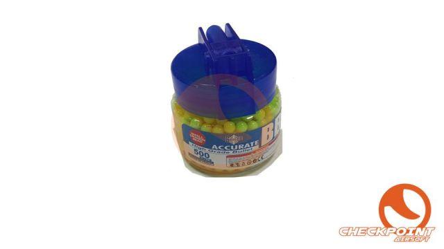 Botella 500 BB`s 012g Amarillas