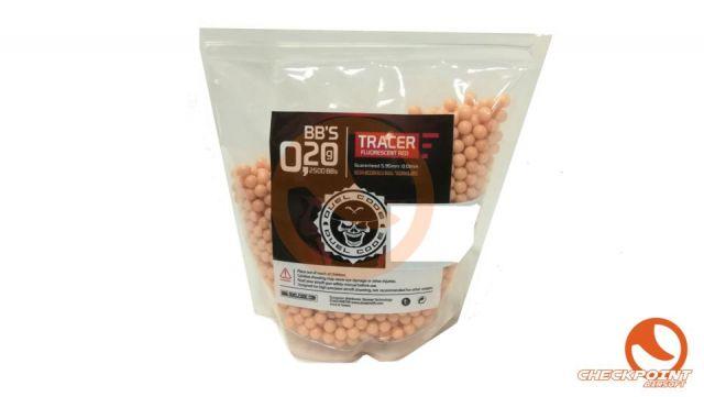BOLAS TRACER 2500 BB´s Rojo 0.20 gramos