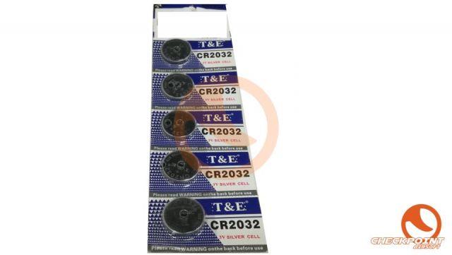 Pilas botón CR2032 3V