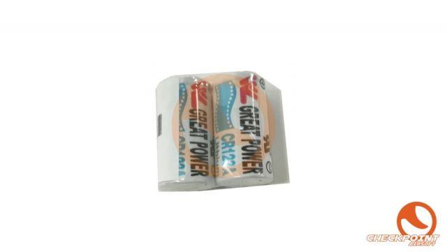 Batería CR123 2PC