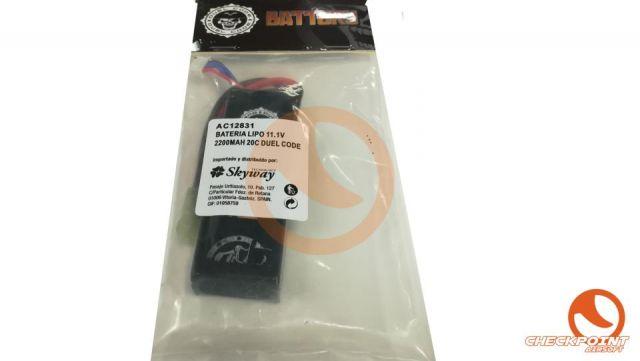 Batería Lipo 11,1V 2200mah 20C