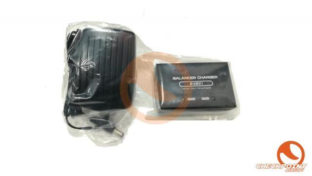 Cargador balanceador lipo 7,4V-11,1V negro