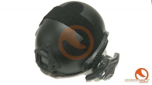 Casco fast MH con pantalla negro