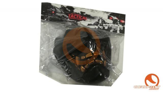 Diablo Máscara de protección - Negro