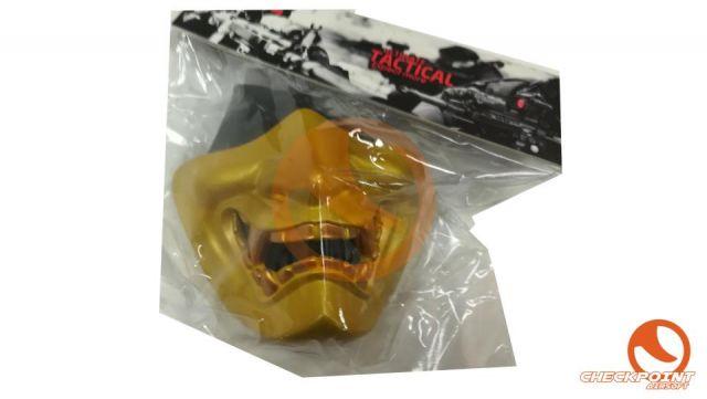 Diablo Máscara de protección - Oro