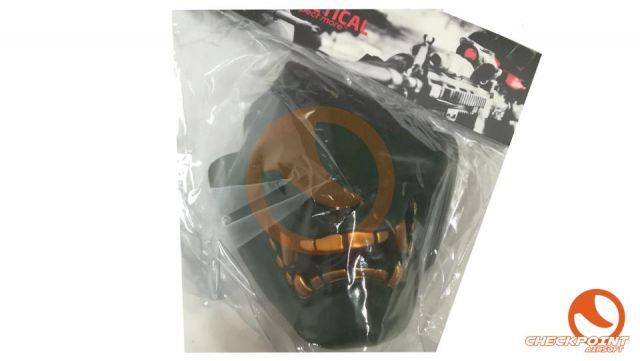 Diablo Máscara de protección - Verde