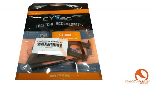 Plataforma para pistolera y porta cargadores Cyma