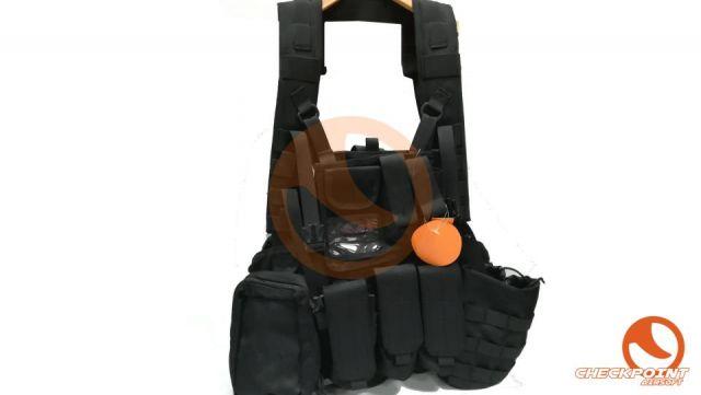 Airsoft 1000D Tactical Molle RRV Scout Vest Black