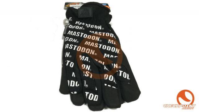 Guantes Mastodon negro