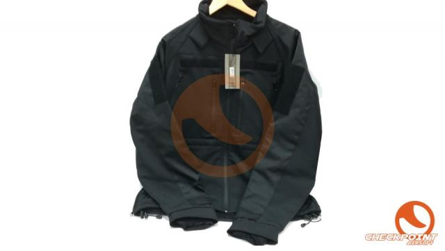 Chaqueta softsell plus negra