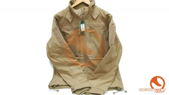 Chaqueta softsell plus coyote