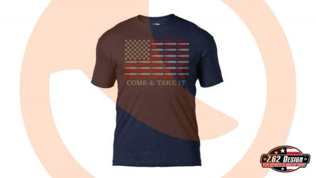 Camiseta 7.62 Come & Take it HNVY