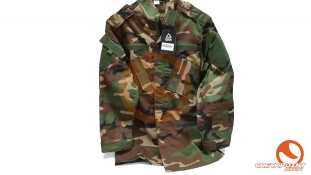 UNIFORME CORTE ACU COLOR WOODLAND