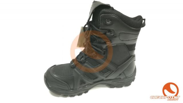 BOTAS INMORTAL WARRIOR DEFENDER NEGRA