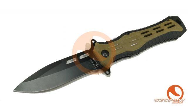 Navaja coyote/negra Albainox 9,6 hoja