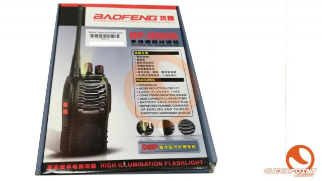 Walkie Talkie BAOFENG pack 2 unidades