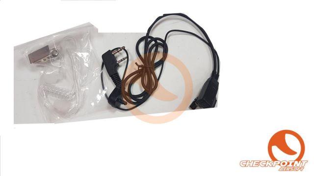 Auricular transparente antirruido con microfono y