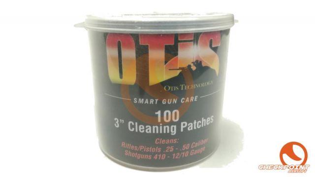 Parche de limpieza Otis. Todos los calibres (100U)
