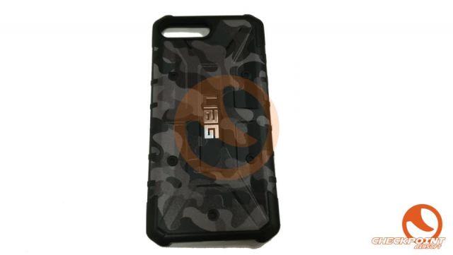 Pathfinder camuflaje negro P/Ipone 8/7/6S PLUS 5