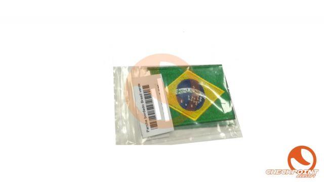 Parche bordado Brasil