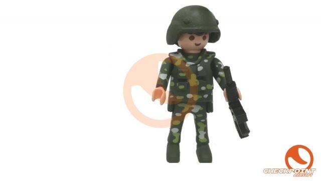 Muñeco custom soldado español pix boscoso