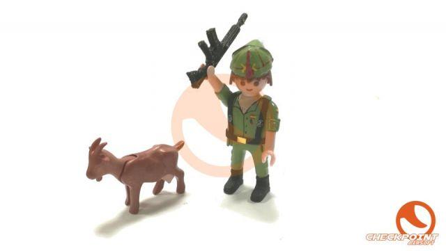 Muñeco custom legión c/cabra