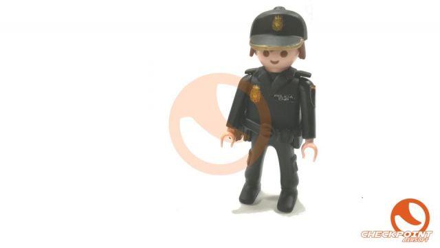 Muñeco custom Policía nacional UIP