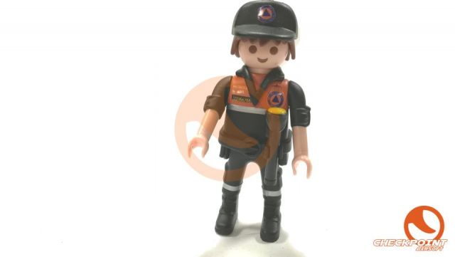 Muñeco custom Protección Civil
