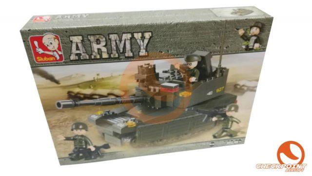 Tanque Leopard 224 bloques Sluban Army