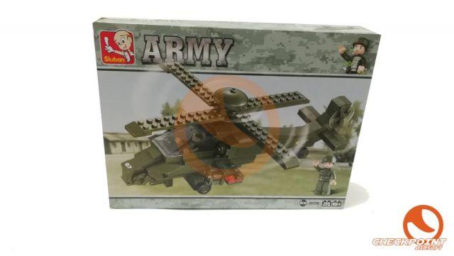 Helicóptero Hind 199 bloques Sluban Army