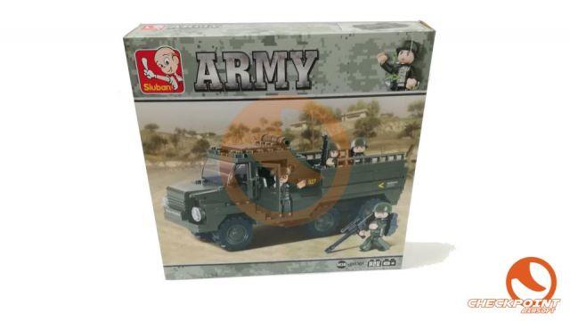 Transporte pesado 230 bloques Sluban Army