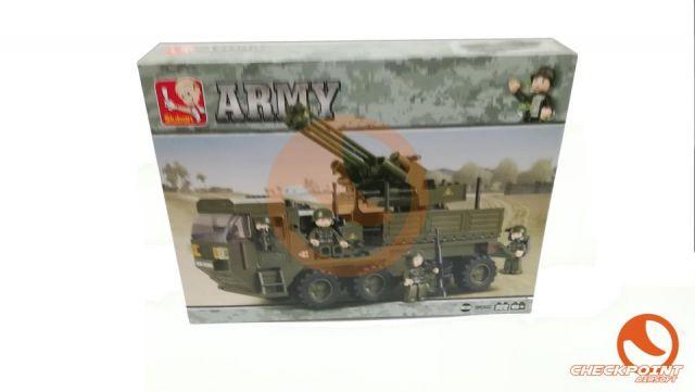 Transporte armado 306 bloques Sluban Army