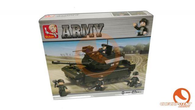 Tanque pesado 312 bloques Sluban Army